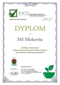 dyplomy_ekoinwestor_2017_1_mlekovita